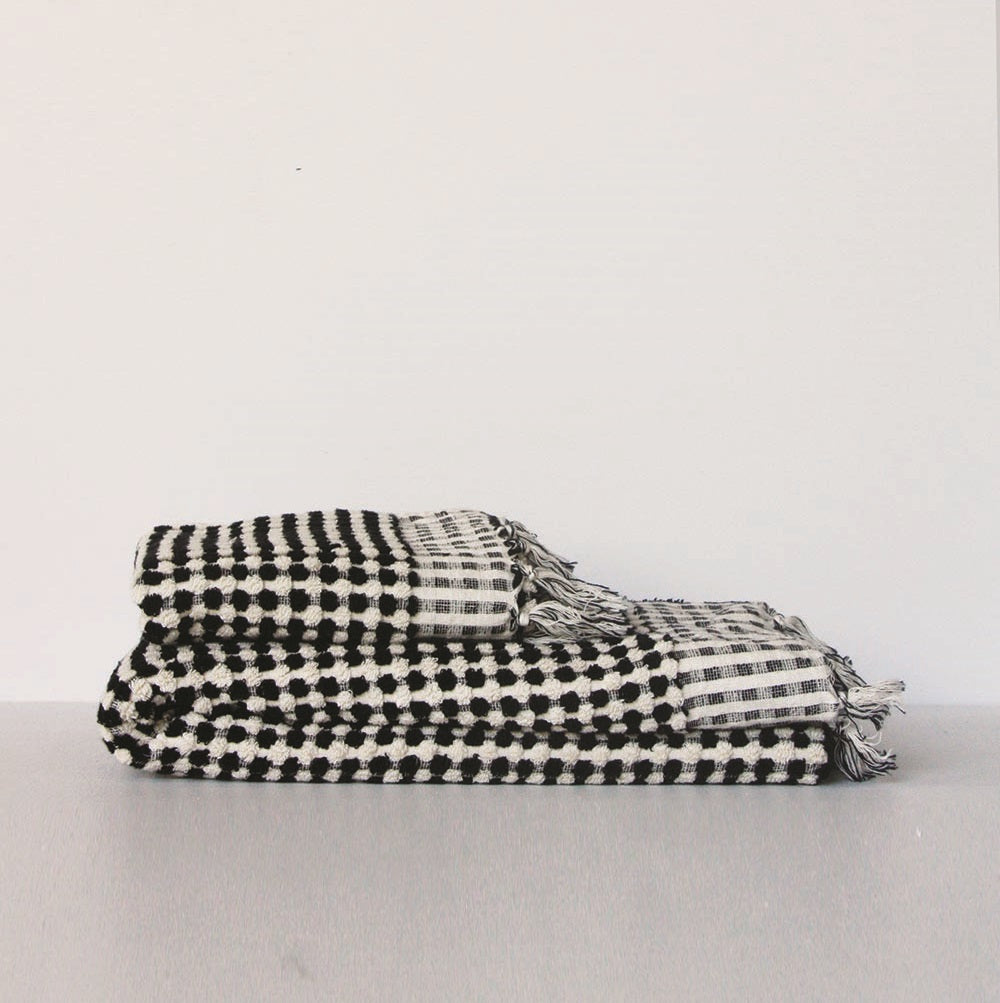 Wanderer Hand Towel- Black