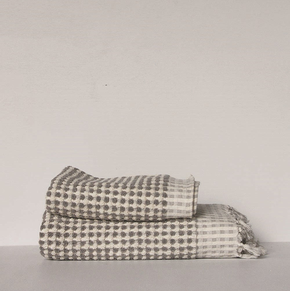 Wanderer Hand Towel- Grey