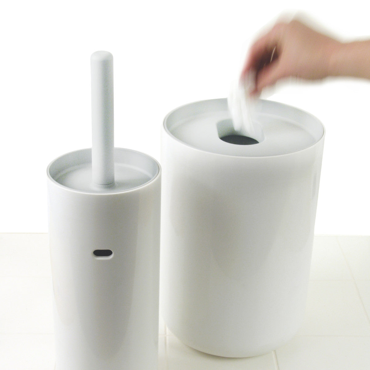 Lunar Toilet Brush- White