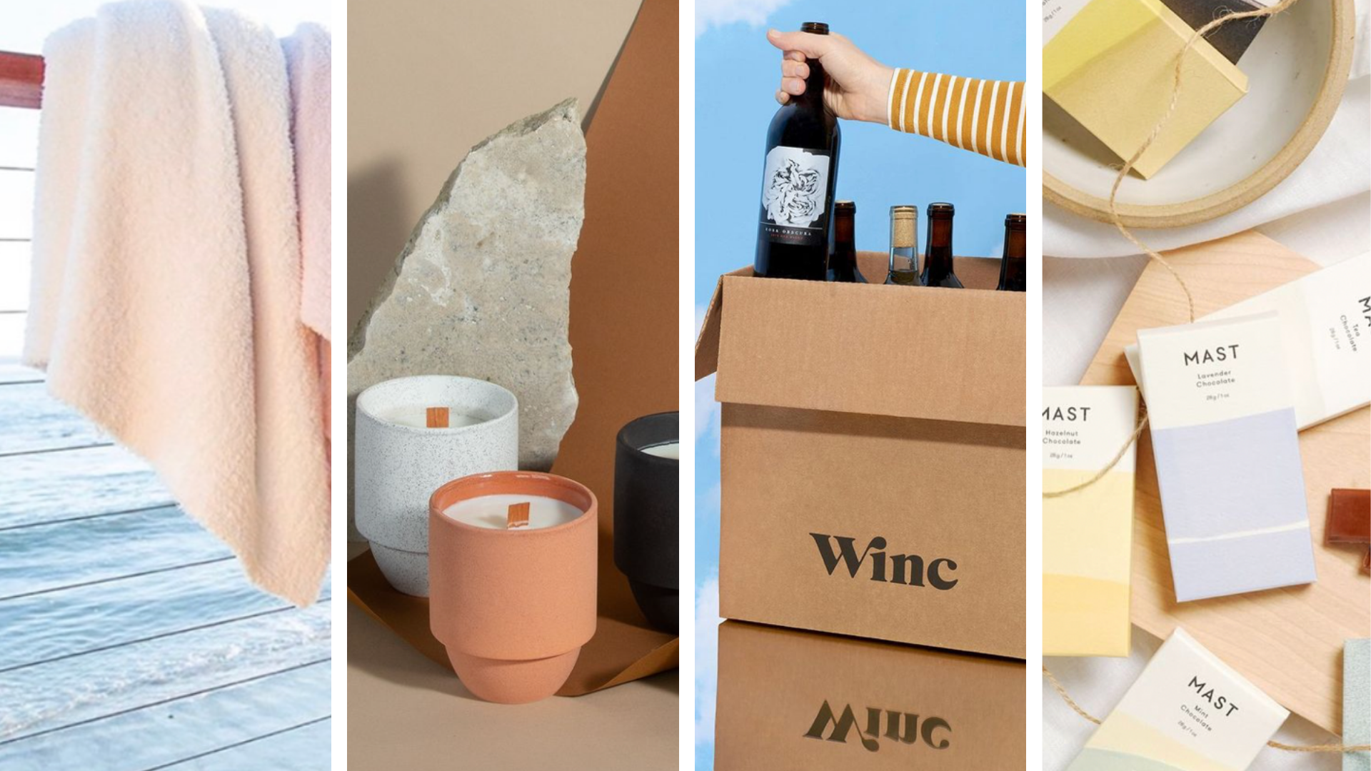 Wine assortment for Evereden Mother's Day Gift Guide