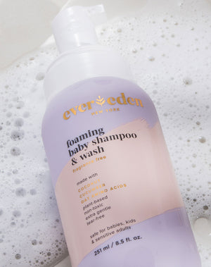 Foaming Baby Shampoo and Wash