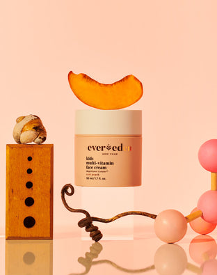 Kids Multi-Vitamin Face Cream Cool Peach