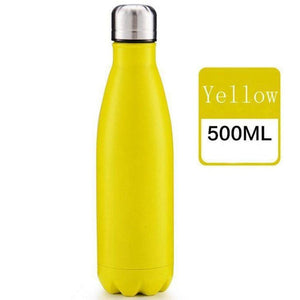 CA/USA/UK Free 17oz 500ml Cola Shaped Bottle Insulated Double Wall Vacuum High-luminance