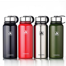 Portable Stainless Steel Water Bottles. Double Vacuum Insulated. Mug Cup; Climbing Kettle Water Bottle 610ml.
