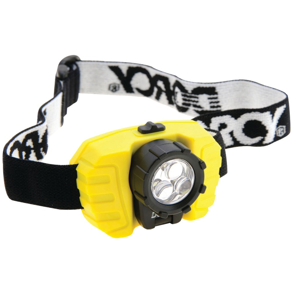 Dorcy 28-lumen 3-led Headlamp