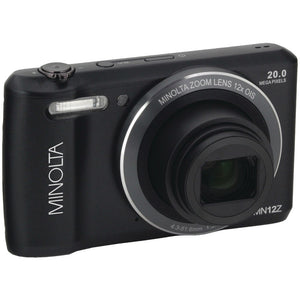 Minolta 20.0-megapixel Hd Wi-fi Digital Camera (black)