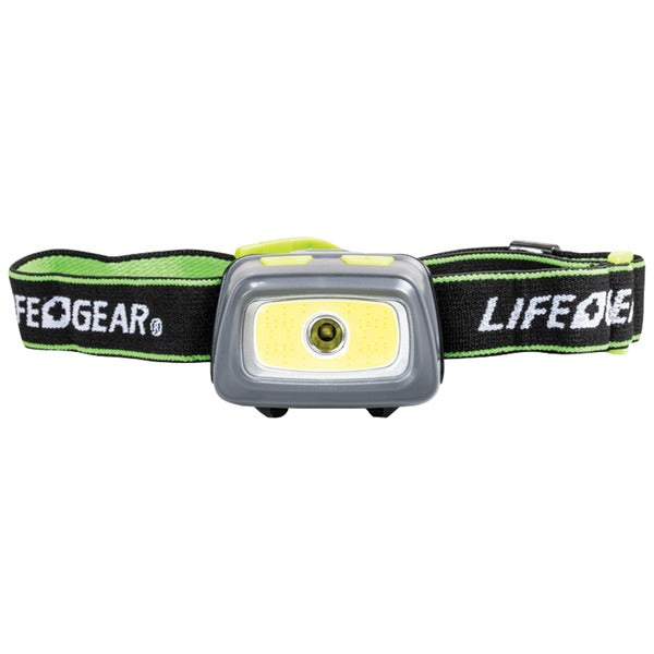 Life+gear 330-lumen Spot & Flood Cob Headlamp