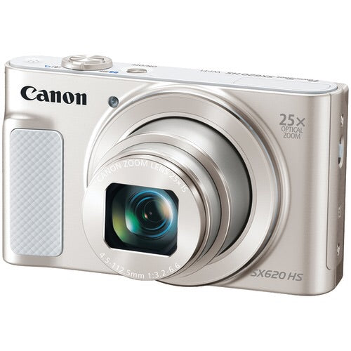 Canon 20.2-Megapixel Powershot Sx620 Hs Digital Camera (Silver)