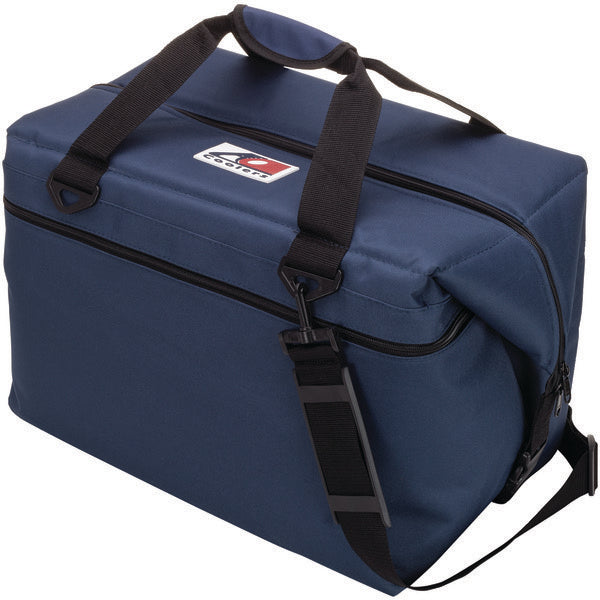 Ao Coolers 48-Can Canvas Cooler (Navy Blue)