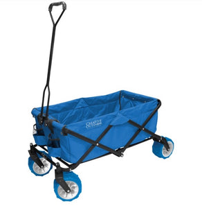 Creative Outdoor Distributor All-Terrain Folding Wagon (Cool Blue)