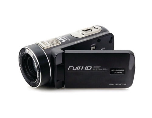Bell+Howell 20.0-Megapixel 1080P Ultra-Zoom Camcorder (Black)