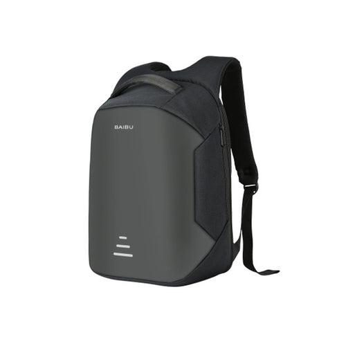 Men's Waterproof Charging Backpack & Business Satchel Bag. Large Capacity with USB Charging Port.