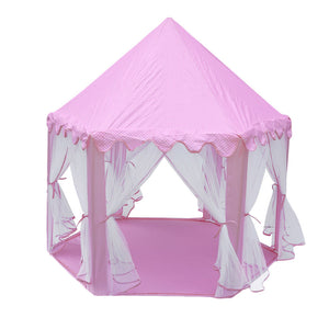 Children Play Tent. Folding Toy Tent Pop Up.  Princess Castle Indoor Playhouse.