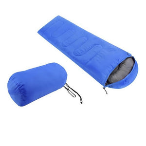 Comfortable Large Single Sleeping Bag. Warm Soft, Waterproof Camping Bag for adults.