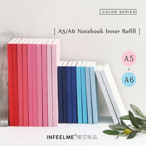 Basic Colors A5 A6 DIY Diary. Multifunctional Pages Bullet Journal  HOBONICHI Style Notebook.