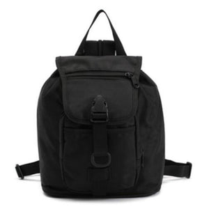 Camouflage durable multi pocket backpack.