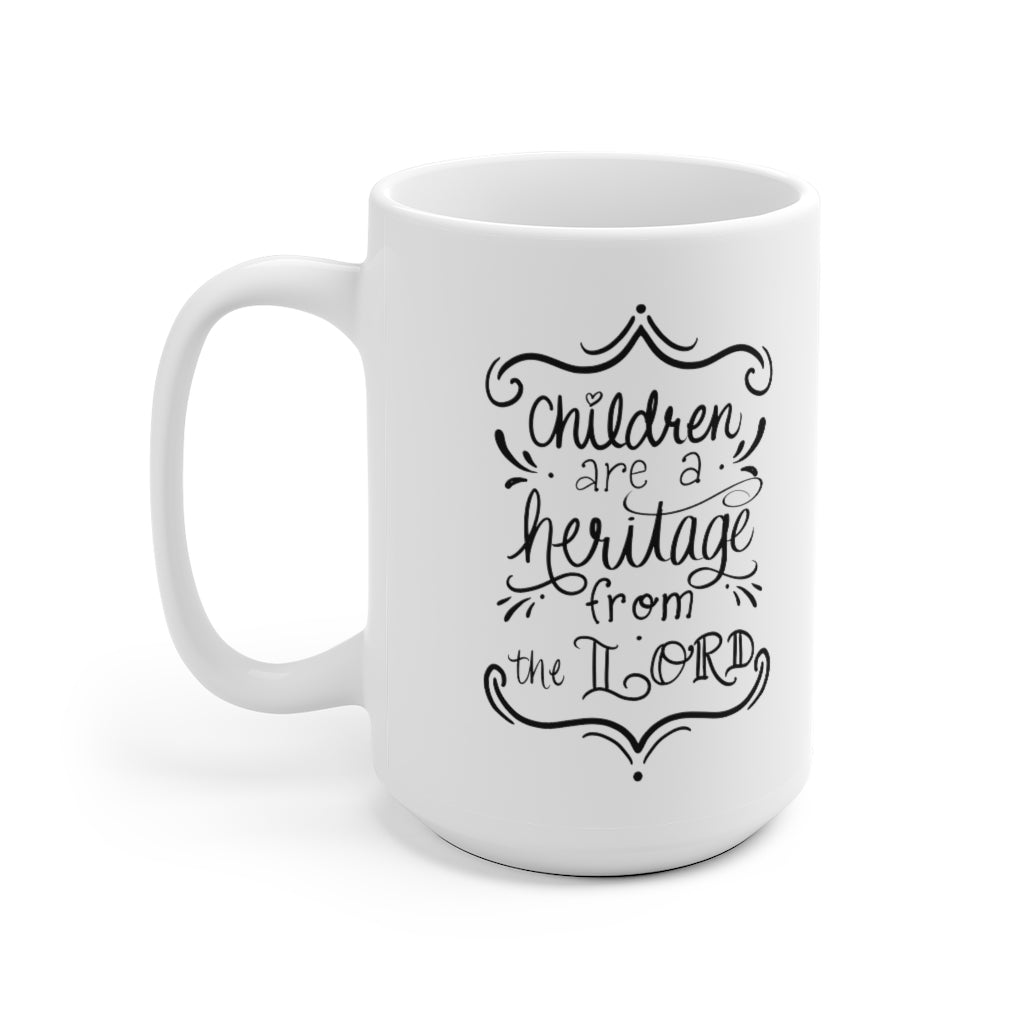 Heritage from the Lord Mug