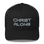 """Christ Alone"" Trucker Cap"