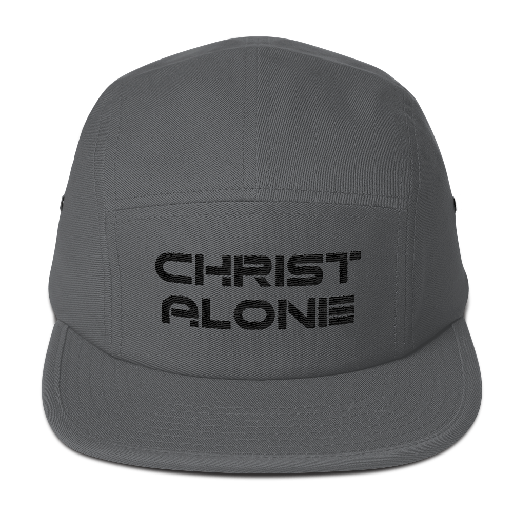 Christ Alone Panel Hat