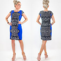 Blue Contemporary Dress by Shelby and Palmer