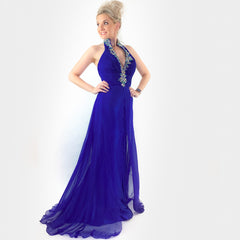Royal Blue Prom Dress Pageant Gown