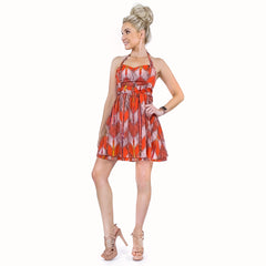 Guess Colorful Halter Tie Sundress