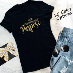 Created With Purpose T-Shirt