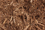 Double Ground Natural Green Mulch