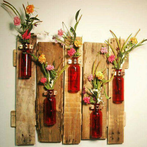 Colorful Glass Florals