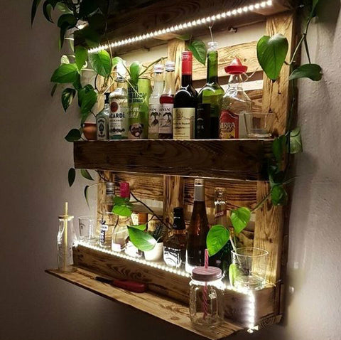 Wooden Wall Racks
