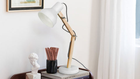 scandinavian style desk lamp
