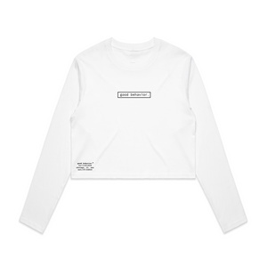 gb crop long sleeves//