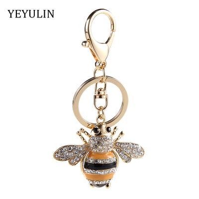 Magnificient Bee Keychain