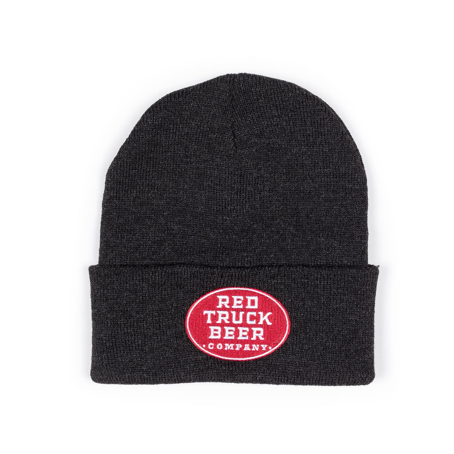 RED TRUCK CHARCOAL TOQUE
