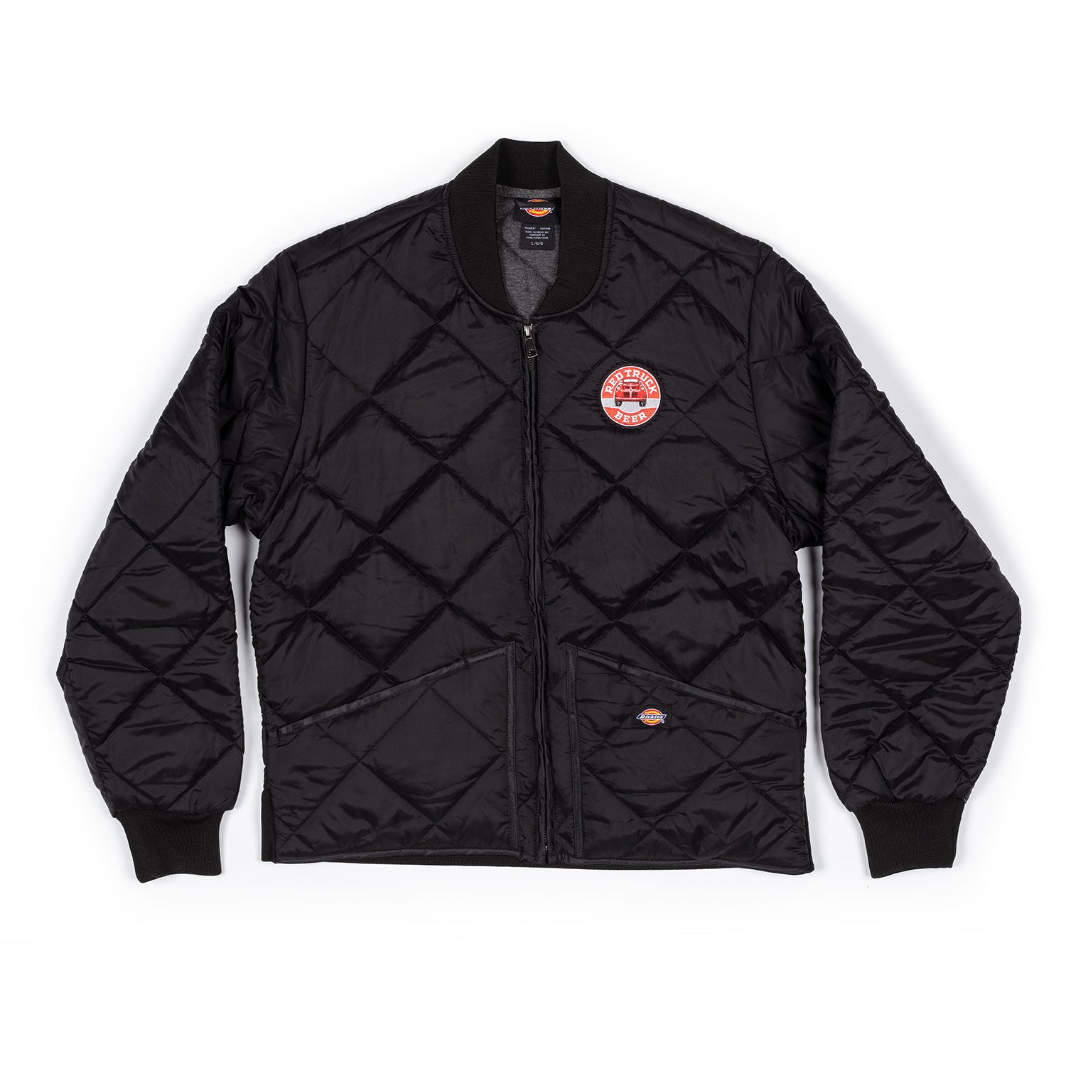 RED TRUCK DICKIES MEN'S PUFFY JACKET