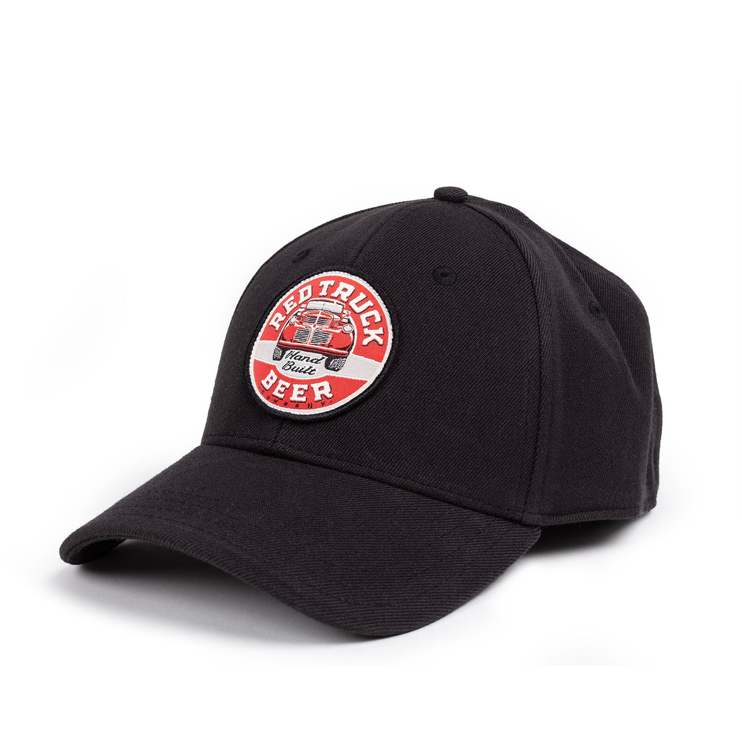 RED TRUCK BLACK HAT