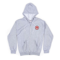 RED TRUCK GREY WOMEN'S HOODY