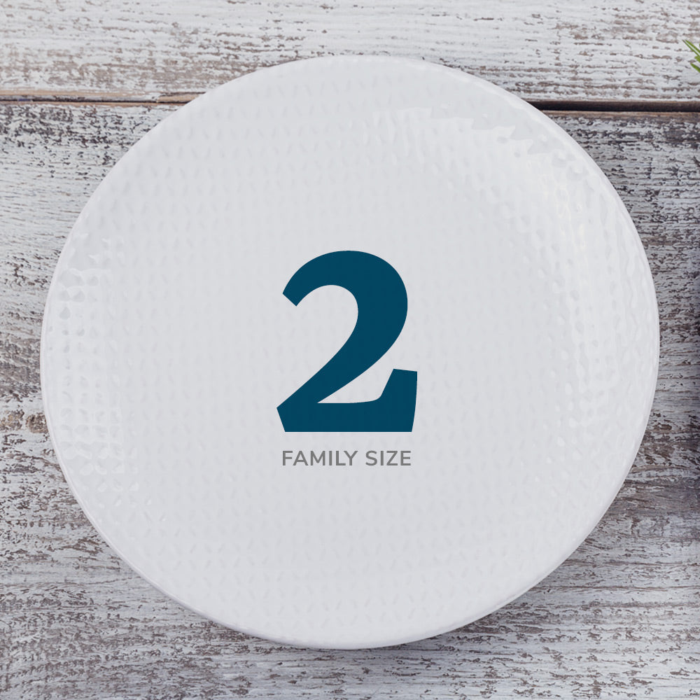 2-Meal Family Plan