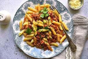 Whole Wheat Penne Bolognese
