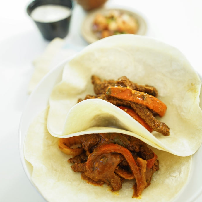 Beef Steak Fajitas