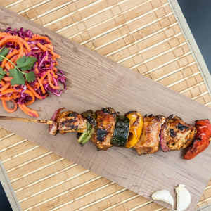 Bacon-Wrapped Chicken Kebab