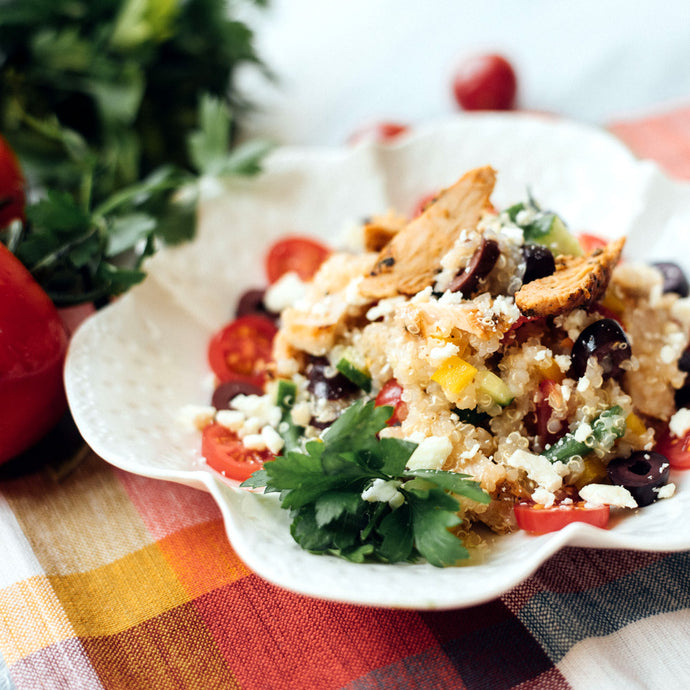 Quinoa & Chicken Salad