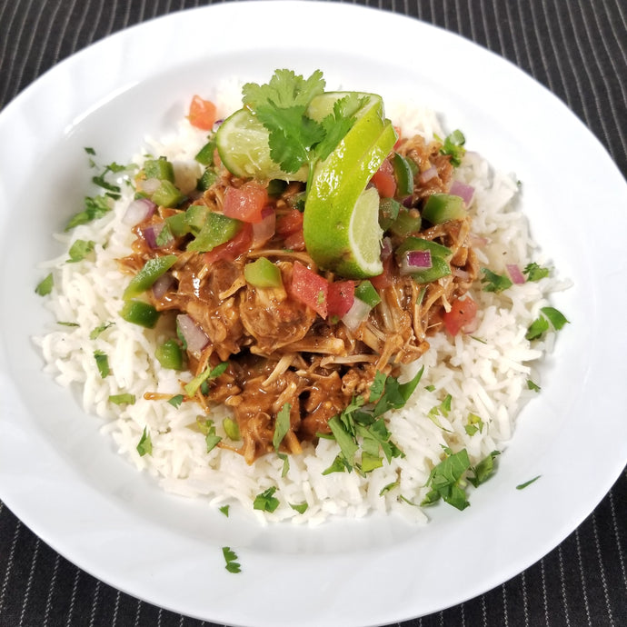Southern Style Vegan Pulled