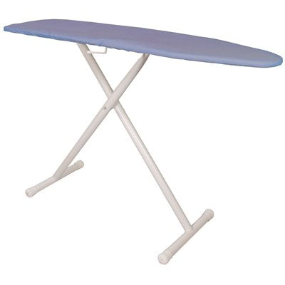 Hospitality 1 Source Full Size T-Leg Ironing Board, Blue Pad And Cover Case Of 4