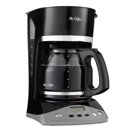 Mr. Coffee® 12 Cup Coffeemaker, Programmable, Black
