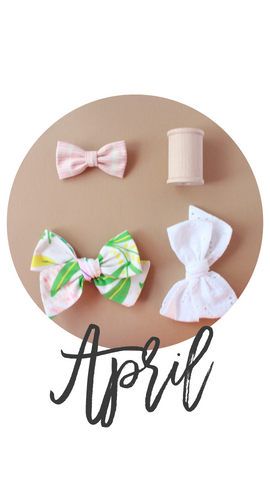 April 2019 Past Bows