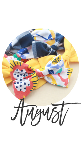August 2019 Past Bows