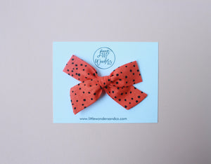 Eden |  School Girl Bow - Phantom Dots