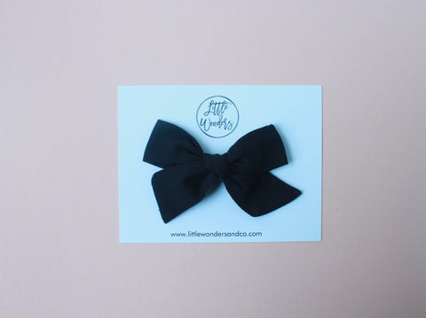 Eden |  School Girl Bow - Licorice