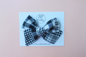 Ella |  Hand Tied Bow - Patchwork